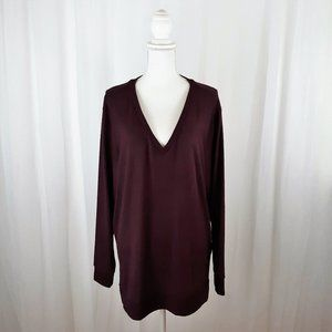 Lucky Brand Tunic Sweater in Purple